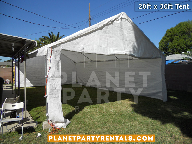 White Party Tent Rentals | Weddings Quinceanera Corporate Events | San Fernando Valley