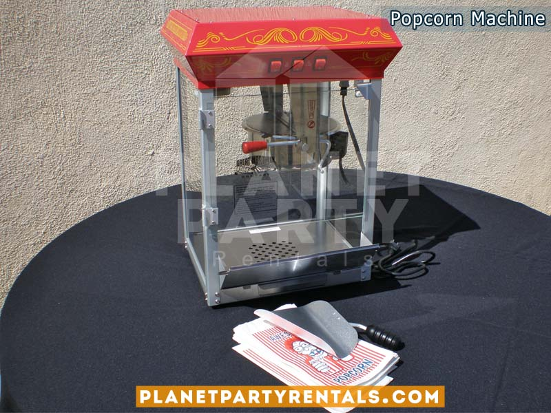 Popcorn Machine Rentals 8oz | Popcorn for your next event | San Fernando Valley Party Rentals