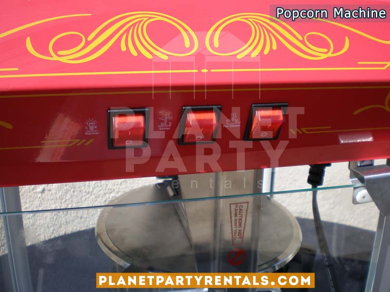 Popcorn Machine Rentals 8oz | Fresh Popcorn for you next Party | San Fernando Valley Party Rentals