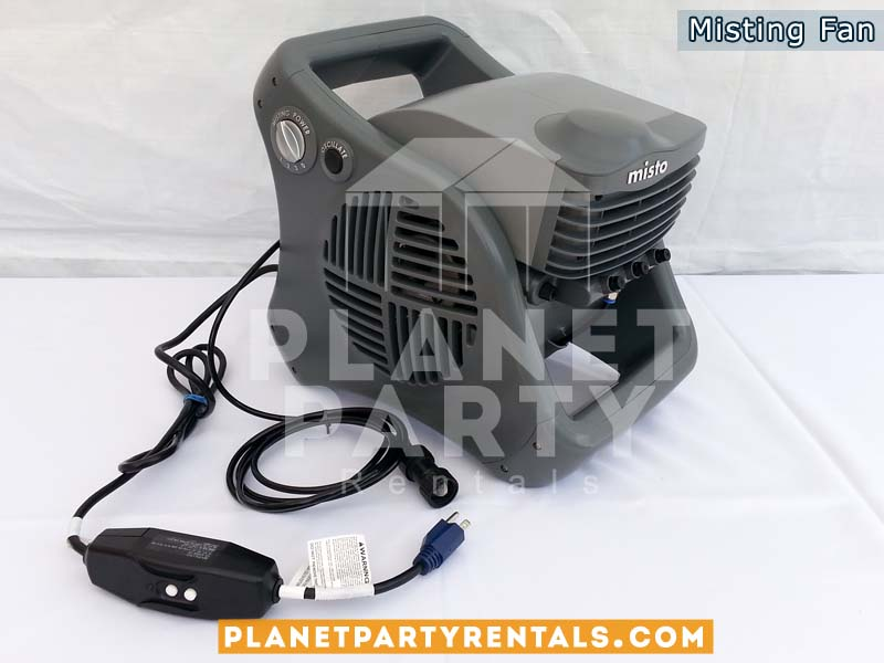 Misting / Mister Fan Equipment Rentals