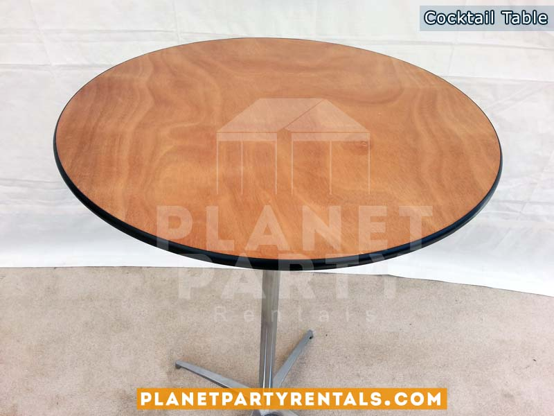 Round Cocktail Table (30 inches Round / 42 Inches Tall